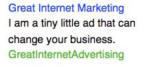 Benefits of Internet Advertising