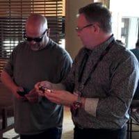 Gary Bernier and Rick Harrison from Pawnstars