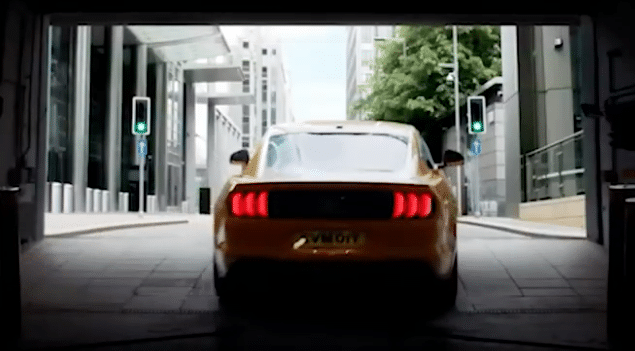 Ford Mustang Sound in Ads